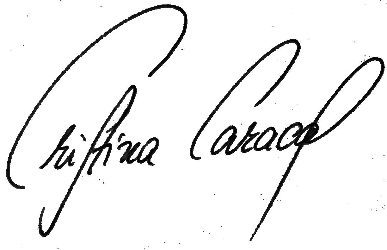 CARACAS_Signatur